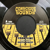 "GHETTO PRIEST  Frontline (7"")"