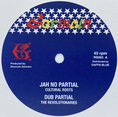 "CULTURAL ROOTS  Jah No Partial / Dubplate Mix  Label: Germain (12"")"