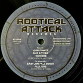 "DUBON STEP & MR ZEBRE High Power & JUNIOR ROY & TOZER Babylon Fall Down (Rootical Attack 12"")"