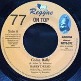"BARRY ISSAC Come Rally (7"") Reggae On Top"