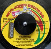 "WAYNE McARTHUR & DISCIPLES  Revelation 2000 / Dub  Label: Hiya-Tones (7"")"