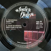 "DANNY RED, INDICA DUBS x KAI DUB  Warning / Concrete Jungle (10"")"