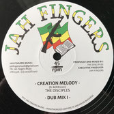 "THE DISCIPLES  Creation Melody (Jah Fingers 12"")"