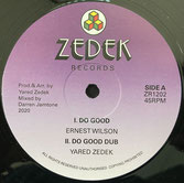 "ERNEST WILSON, H. WOLTERS  Do Good / Farwest Step  Label: Zedek (12"")"