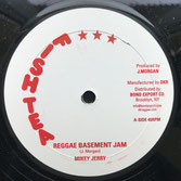 "MIKEY JERRY  Reggae Basement Jam / Version  Label: Fishtea (10"")"