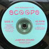 "SANDRA CROSS  Jumping Sound  Label: Scoops (7"")"