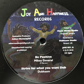 """MIKEY GENERAL, LUCIANO  Be Positive / Hearer Of Prayer (Joy And Happiness 12"""")"""