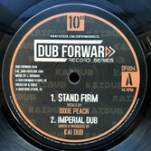 "DIXIE PEACH, TENNA STAR  Stand Firm / Fight For The Future (10"")"