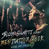 BLOOD SHANTI  sings Meditation Rock Wise Up and Live (Aba Shanti-I LP)