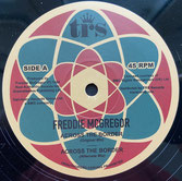 "FREDDIE McGREGOR  Across The Border / Dubwise  Label: TRS (12"")"