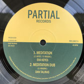 "EVA KEYES  Meditation / Let It Fall (10"")"