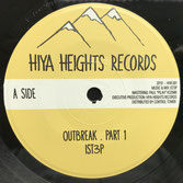 "iSt3p  Outbreak / Dub  Label: Hiya Heights (7"")"