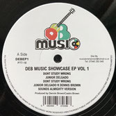 JUNIOR DELGADO & DENNIS BROWN  Don't Study Wrong / What About The Half (DEB Music EP)