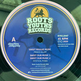 "PRINCE ALLA, ABA ARIGINAL,  Sweet Reggae Music / Epic Trumpet  Label: Roots Youths (12"")"