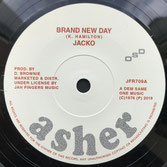 "JACKO  Brand New Day (7"")"