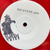 "MIGHTY PROPHET  David vs Goliath  Label: Higher Region (7""ltd red vinyl edition)"