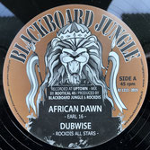 "EARL SIXTEEN, MURRAYMAN  African Dawn / Back Way (12"")"