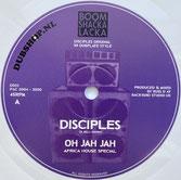 """DISCIPLES  Oh Jah Jah / Jah Militia  Label: Dubshop.nl (10"""")"""