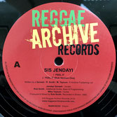 "SIS JENDAYI  Feel It & Dub Versions  Label: Reggae Archive (10"")"