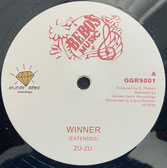 "ZU-ZU  Winner Ext / Version  Label: Bebos Music (12"")"