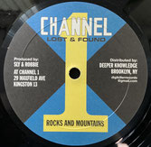 """MIGHTY TRAVELLERS & SLY & ROBBIE  ROCKS AND MOUNTAINS / DUB  Label: Channel 1 (10"""")"""