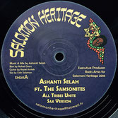 "ASHANTI SELAH, KIBIR LA AMLAK All Tribes Unite / Born For A Purpose (12"") Salomon Heritage"