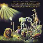 "TENA STELIN & KING ALPHA - Rasta Mission (Akashic 12"")"