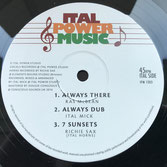 "RAS McBEAN, I DAVID, ITAL MICK  Always There (12"")"