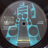 "BUNNINGTON JUDAH Rumours (12"") Dub Conductor"