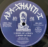 "THE SHANTI-ITES  Horn of Africa / Lightening  Label: Aba Shanti-I (12"")"