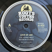 "ITAL HORNS meet RAINBOW SOUNDS  Love Of Jah (7"")"
