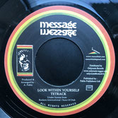 """TETRACK  Look Within Yourself  Label: Message (7"""")"""