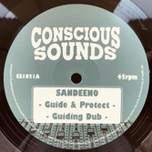 "SANDEENO, MYSTICAL STEPPA  Guide & Protect / Sabbath  Label: Conscious Sounds (10"")"