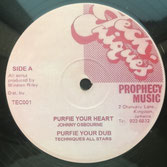 "JOHNNY OSBOURNE, JIMMY RILEY  Purify Your Heart / Prophecy  Label: Techniques (12"")"