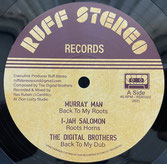 """MURRAY MAN, DIGITAL BROTHERS  Back To My Roots / Mystical Way  Label: Ruff Stereo (12"""")"""