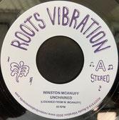 "WINSTON McANUFF, FATMAN RIDDIM  Unchained / Dub  Label: Roots Vibration (7"")"