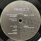 "LION WARRIAH, MADPLATE SOUND  We Are Rebels (4Weed 12"")"
