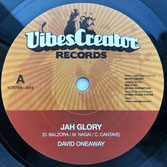 "MIGHTY MASSA feat DAVID ONEAWAY  Jah Glory (VibesCreator 7"")"