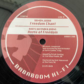 "RAMON JUDAH, DUB DEFENDER  Freedom Chant / Freedom Rock  Label: Bababoom Hi-Fi (12"")"