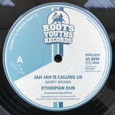 "BARRY BROWN  Jah Jah Is Calling Us / Own Feet (12"")"