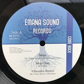 "MR ZEBRE, LOTTA, GURU POPE, VIBRONICS,  ARTMAN meets DOUGIE  Mojo / Tribute To The King  Label: Emana Sound (12"")"