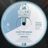 "GREGORY ISAACS  Over The Bridge / Lets Go Dancing (Roots Youths 12"")"