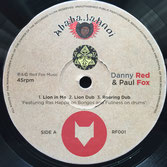 "DANNY RED & PAUL FOX  Lion In Me (Ababajahnoi 12"")"