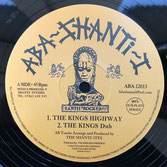 "THE SHANTI-ITES  The Kings Highway / I Fear No Evil  Label: Aba Shanti (12"")"
