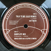 "JUDY GREEN  Talk To Me (A&O remix)  Label: Indica Dubs (7"")"