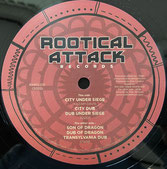 "KAZAM DAVIS, STARF  City Under Siege / Son Of Dragon  Label: Rootikal Attack (12"")"