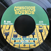 "ROBERT EMANUEL  Rasta Children (7"")"