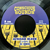 "EL INDIO  African Blood (7"")"