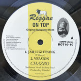 "CHAZBO  Jah Lightning / Four Noble Truths (10"")"