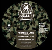 "JAH MASSIVE Promised Land / Return To Jah (Roots Youths 12"")"